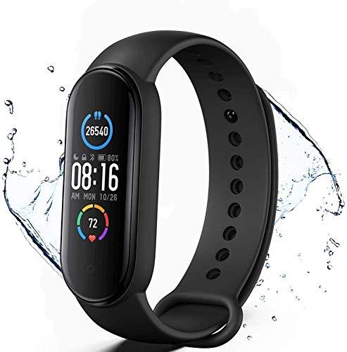Pulsera de Actividad física M5,Reloj Inteligente con Oxígeno Sanguíneo Presión Arterial...*