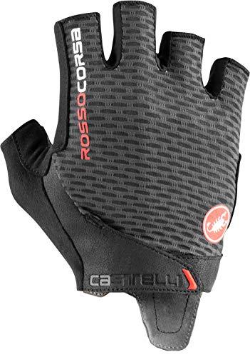 CASTELLI 4521024-030 Rojo Corsa Pro V Glove Guantes Ciclismo Hombre Dark Gray XL*