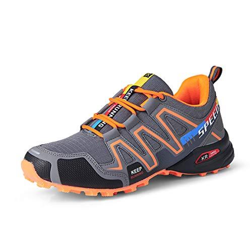 Speedcross 3 - Zapatillas de montaña para hombre, zapatillas de senderismo para correr, transpirables, antideslizantes, para escalada Size: 43 EU