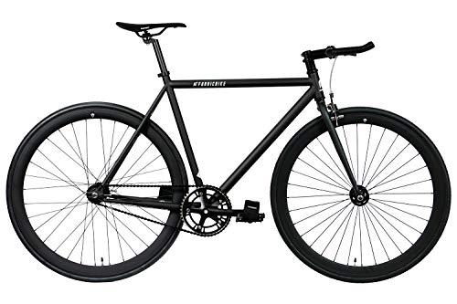 FabricBike Original Pro- Bicicleta Fixie, Piñon Fijo Flip-Flop, Single Speed, Cuadro Hi-Ten Acero,...*