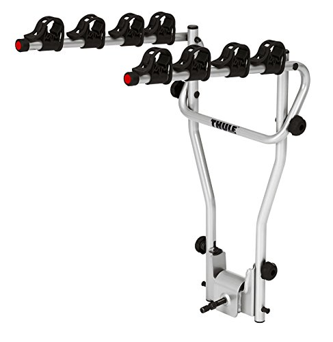Thule HangOn 4, Portabicicletas basculante, básico y de fácil manejo (para 4 bicicletas).*
