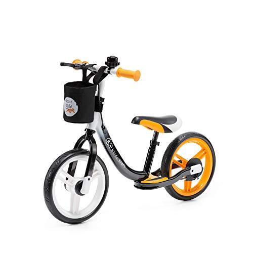 kk Kinderkraft Bicicleta sin Pedales SPACE, Sillín Ajustable, con Freno, Naranja*