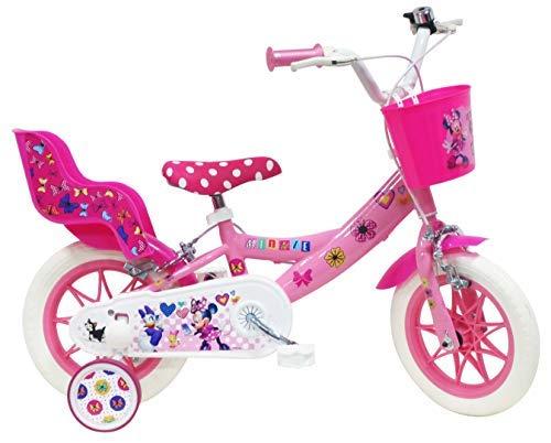 VELO Minie Bicicleta Infantil, Niños, Multicolor, 12 Pulgadas