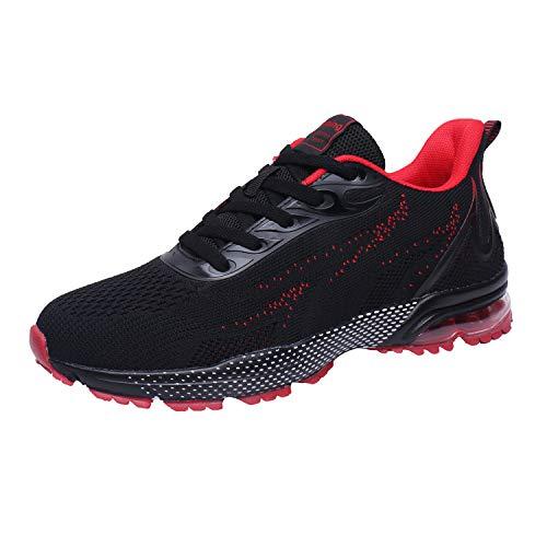 Zapatillas de Deporte Hombre Mujer Respirable para Correr Deportes Zapatos Running Calzado Deportivo...*
