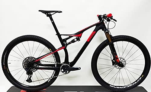 CLOOT Bicicletas Carbono Doble 29 Evolution FS 9.0 Team, SRAM Eagle 12v 10-52, Horquilla Fox KASIMA...*