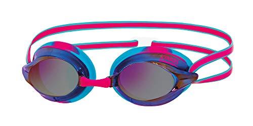 Zoggs Racespex Mirror Gafas de natación, Adultos Unisex, Blue/Pink/Mirrored, Talla Única