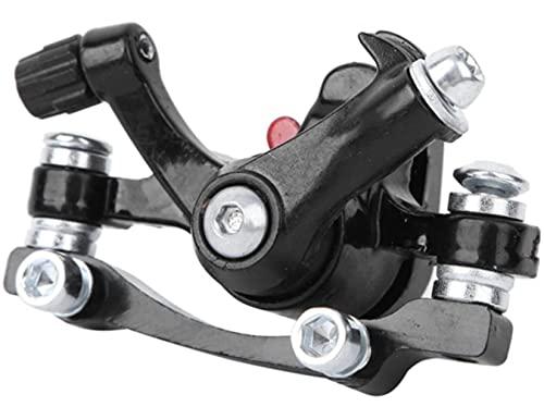 Young Wolf Montaña mecánica de aleación de aluminio freno de disco MTB bicicleta ciclismo bicicleta pinza (delantero 160mm (F160/R140))