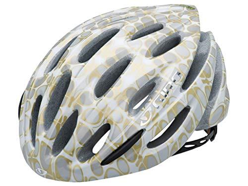 Giro 200005012 Stylus 10 - Casco para Ciclismo, Color Negro Gris White/Gold Eleanor Butterflies Talla:M (55-59cm)