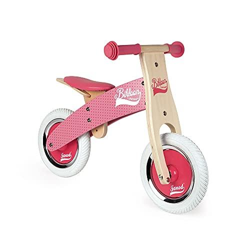 Janod - Mi primera Bicicleta sin pedales Bikloon - Madera - Aspecto Vintage - Aprendiendo Equilibrio...*