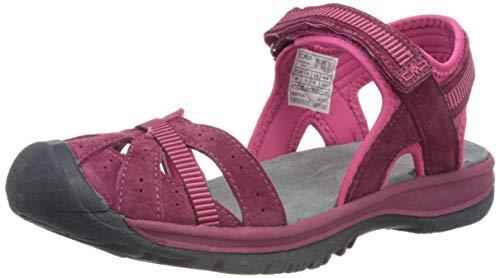 CMP – F.lli Campagnolo Hezie Wmn Hiking Sandal, Sandalias de Senderismo Mujer, Gris Titanio U807, 40 EU