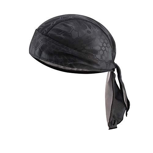 Pañuelo unisex para la cabeza, transpirable, pirata, ciclismo, moto, pañuelo pirata para la...*
