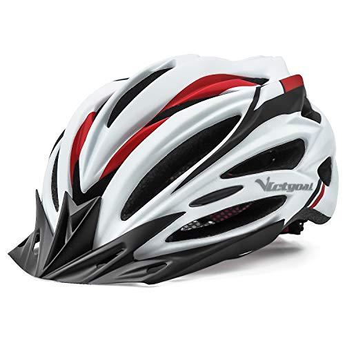 VICTGOAL Casco Bicicleta Adulto Unisexo para Ciclismo MTB Road Race Montaña Casco con Luz Trasera...*