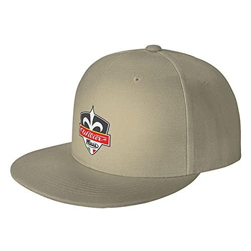 Wil-eier-e TR-eies-etin-EA S-eadd-eles-e 10-e3O7-eO Gorras de béisbol Baseball Cap Natural One Size Hip Hop Flat Brim Hat