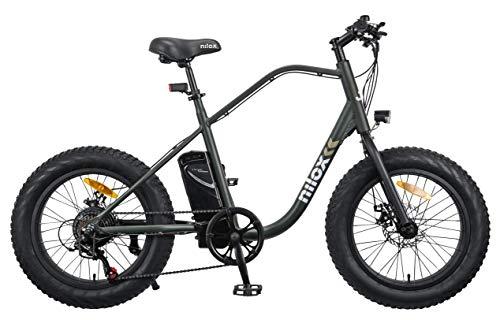 Nilox 30NXEB203V003V2 - Bicicleta eléctrica E Bike 36V 7.8AH 20X4P - J3, Motor 36 V 250 W, batería...*