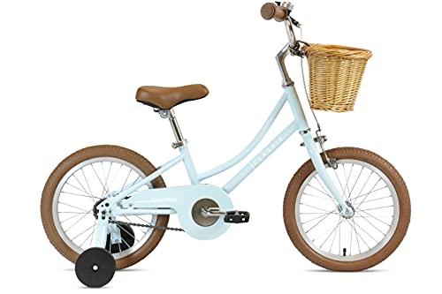 FabricBike Kids - Bicicleta con Pedales para niño y niña, Ruedines de Entrenamiento Desmontables,...*