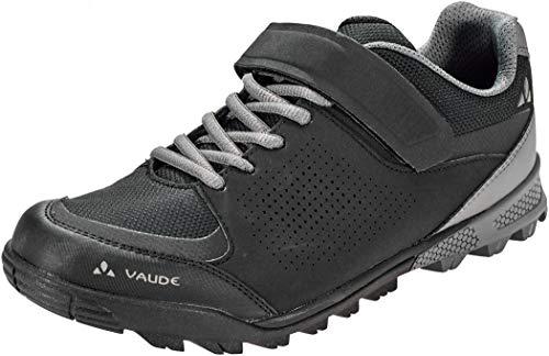 VAUDE Am Downieville Low, Zapatillas de Ciclismo de montaña Unisex Adulto, Negro (Black 010), 42 EU