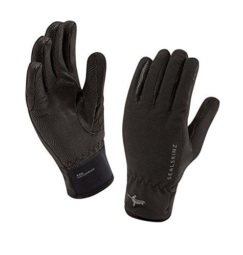 Sealskinz Handschuhe Sea Leopard Gloves - Guantes de Ciclismo para Mujer, Color Negro, Talla XL