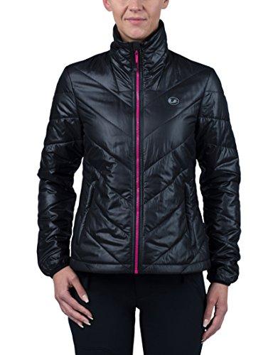 Ultrasport Advanced Chaqueta Lorma para mujer, chaqueta para todo el año, Negro/Rosa, XS