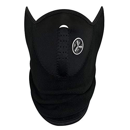 TRIXES Pasamontaña/Calentador para el Rostro y el Cuello - Ideal para IR en Bici, Moto, Esquiar o Practicar Snowboard - Pasamontañas Snowboard - Pasamontañas Neopreno - Mascara Moto Invierno