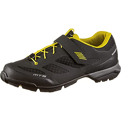 Shimano SH M MTB MT5 T-43, Zapatillas de Ciclismo de Carretera Hombre, Negro (Negro 000), 43 EU