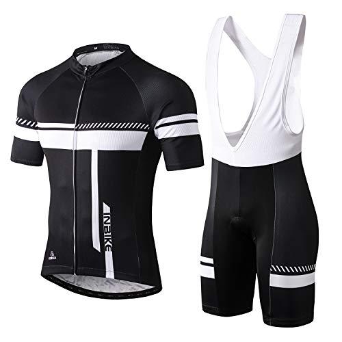 INBIKE Roapa Ciclismo con 3D Acolchado De Gel, Maillot Ciclismo + Pantalon/Culotte Bicicleta...*