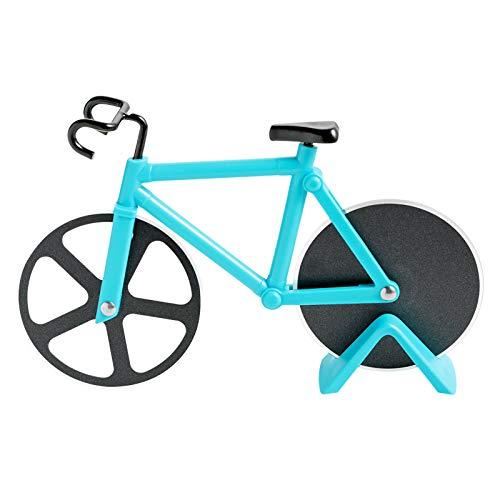 Bicicleta Cortador de Pizza, Rueda de Corte de Acero Inoxidable con Revestimiento Antiadherente con...*