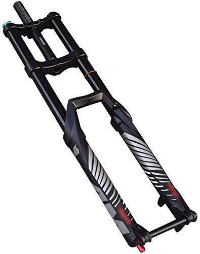 Lloow Horquilla de suspensión con doble hombro y eje de cubo de 27.5 pulgadas para bicicleta de...*