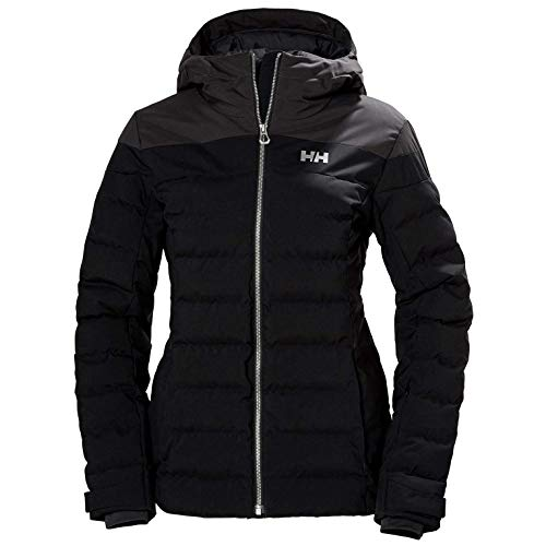 Helly Hansen W Imperial Puffy Jacket Chaqueta Con Doble Capa, Mujer, Black, L