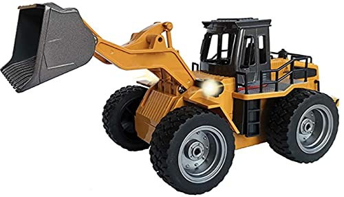 1:18 RC Tractor Shovel Toy RC Carretillas Elevadoras de carretillas Carretillas de ingeniería, 4WD...*