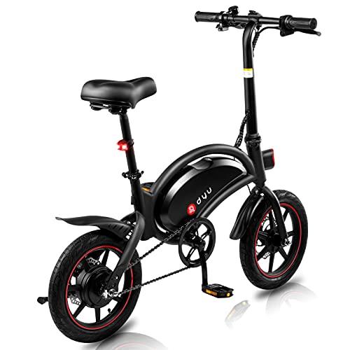 Bicicleta Eléctrica Adultos Motor de 350w,Iluminación LED,Batería de Alta Capacidad de...*