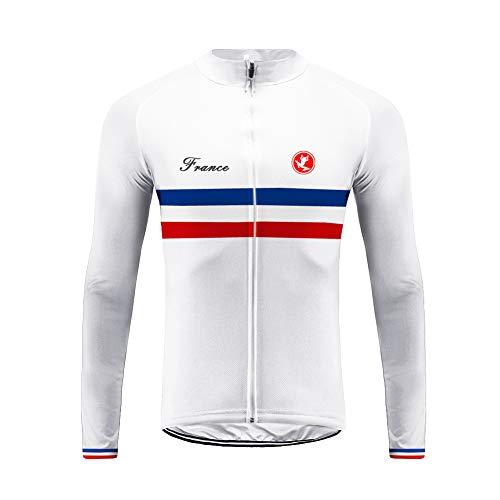 Future Sports UGLYFROG Bike Wear Designs para Hombre de Manga Larga Winter Flece de Ciclismo de...*