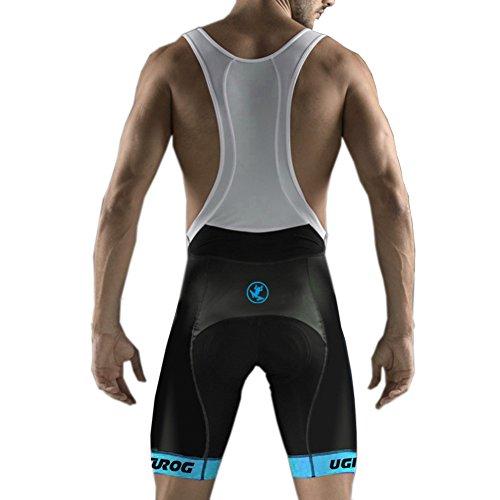 UGLY FROG MTB Ropa Ciclismo Culote Corto con Tirantes Y Badana Gel Culotte para MTB Ciclistas Hombre Culote MTB Pantalones Cortos