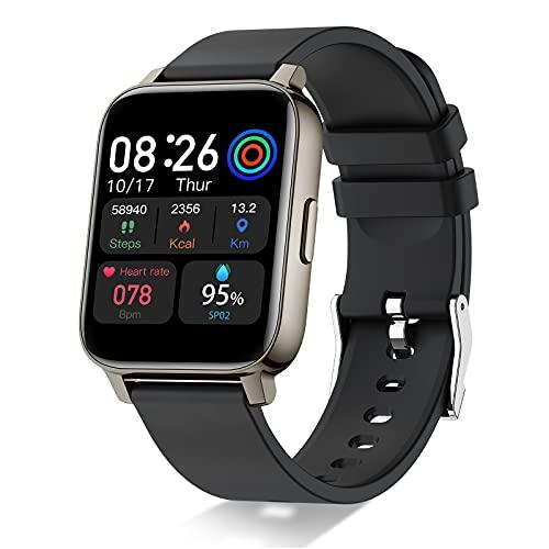 """Smartwatch, Reloj Inteligente Hombre Mujer 1,69"""" Deportivos, Pulsera Actividad Reloj Sport con...*"""