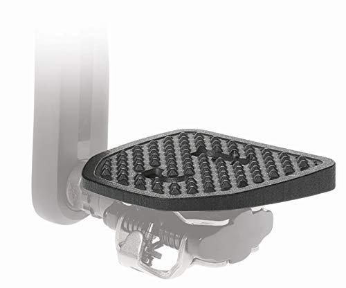 PP Pedal Plate   SPDX   Adaptador para Pedales compatibles con Shimano SPD o Look X-Track   No se Necesitan Cleats Adicional   Convierte Clipless en Pedales Planos   por Seguridad y Comodidad  