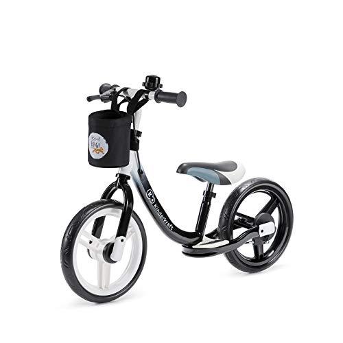 kk Kinderkraft Bicicleta sin Pedales Space, Sillín Ajustable, con Freno, Negro, Unisex bebé, 86 x 38 x 62