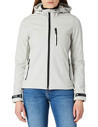 Superdry Jacket Arctic Soft Shell-Chaqueta, Grey Marl, L para Mujer