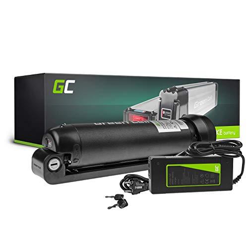 Green Cell® 24V   36V Batería para Bicicleta Electrica de Iones de Litio Li-Ion Recargable al Motor 250W BMS E-Bike Pedelec Down Tube Botella y Cargador (36V 5.2Ah MAX 250W)