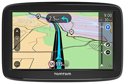TomTom GPS para coche Start 52 Lite, 5 pulgadas, mapas de la UE, soporte reversible integrado...*