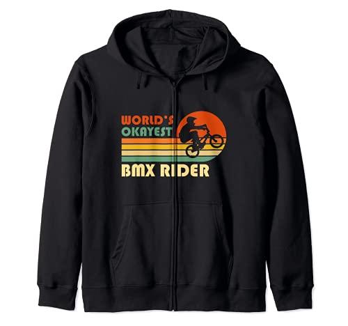 El piloto de BMX más bueno del mundo - Divertido deporte Sudadera con Capucha