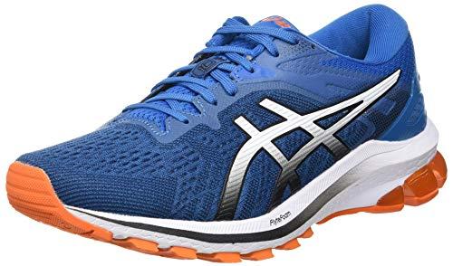 Asics GT-1000 10, Road Running Shoe Hombre, Reborn Blue/Black, 39 EU*