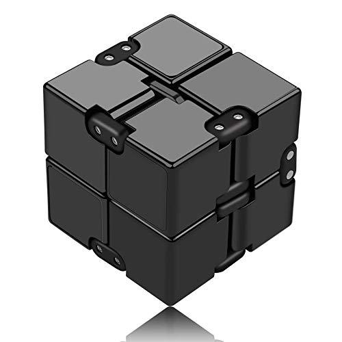 Funxim Infinity Cube Toy para Adultos y niños, versión Nueva Fidget Finger Toy Stress y Ansiedad,...*