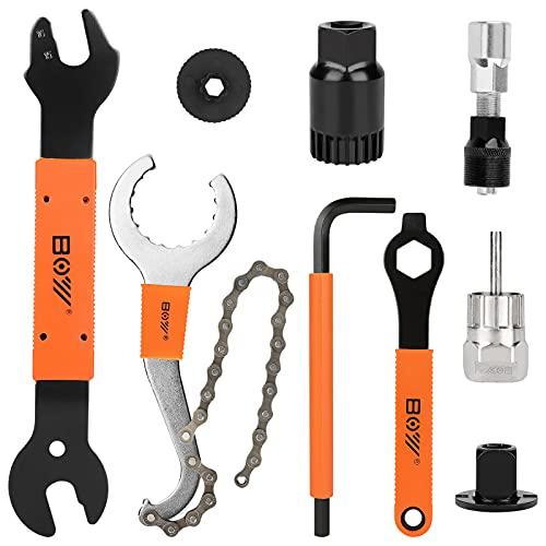 Upkey Extractor de bielas para bicicleta con herramienta para quitar la manivela de la bicicleta +...*