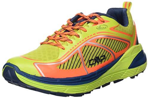 CMP – F.lli Campagnolo Nashira Maxi Shoe, Zapatillas de Trail Running Hombre, Gelb Energy Flash Orange 34ee, 39 EU