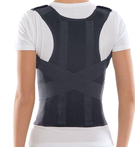 TOROS-GROUP Corrector de Postura Espalda; Soporte de Espalda y Columna Lumbar; Aliviar el dolor de...*
