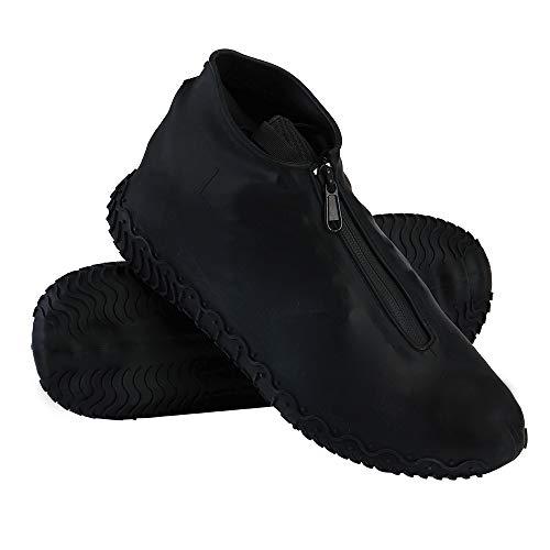 Cubrecalzado Impermeable,Cubierta del Zapato Impermeable Funda de Silicona para Zapatos,Funda de...*
