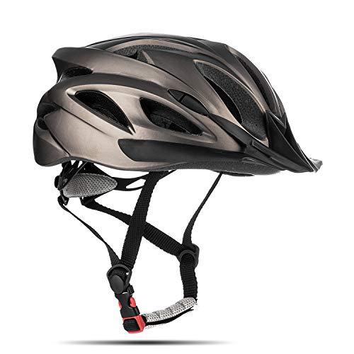 Junior Kids Bike Helmet - Casco de Ciclismo para jóvenes Mountain Bike Dial Ajustable Visor...*