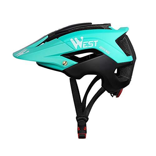 Zeroall Casco de Bicicleta Ligero para Hombre Mujer 56-62cm Tamaño Ajustable Casco de Ciclo con...*
