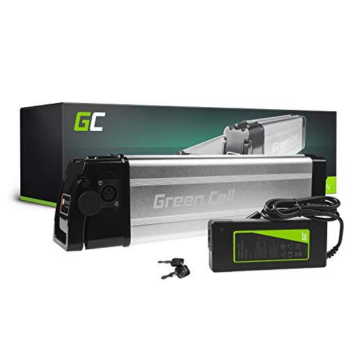 Green Cell GC® Bateria Bicicleta Electrica 36V 11Ah Silverfish Li-Ion E-Bike Batería y Cargador*