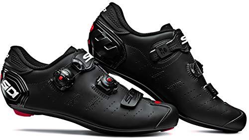 SIDI Zapato Ergo 5 Matt, Hombre, Escape de Ciclismo, Negro Mate, 44 EU