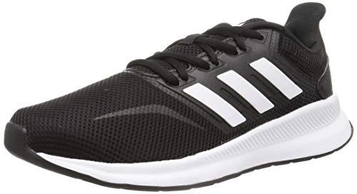 Adidas Falcon, Zapatillas de Trail Running Hombre, Negro/Blanco (Core Black/Cloud White F36199), 42 EU